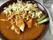 Kuřecí paprikáš - recept na kuřecí paprikáš s domácími noky