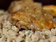 Kuřecí perkelt - recept na kuřecí perkelt s haluškami a tvarohem