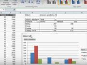 Excel - kontingenční tabulka a graf
