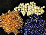 Korálkové šperky - náhrdelník a náramek z korálků - korálkování