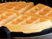 Domácí vafle - recept na těsto (waffle)