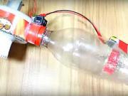 Mini vysavač - jak si vyrobit jednoduchý domácí vysavač - DIY