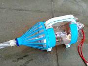 Mini vysavač z plastové láhve - DIY
