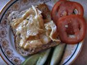 Míchaná vajíčka na americký způsob - recept