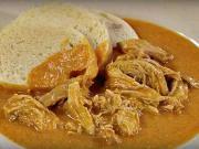 Kuře na paprice - recept na trhané kuře na paprice - kuřecí paprikáš