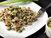 Halušky s kysaným zelím - recept na halušky se zelím a slaninou