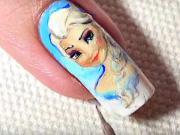 Frozen gelové nehty