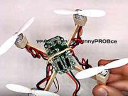Mini dron - jak si vyrobit quadcopter doma - DIY