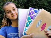 Sešity do školy - jak si vyrobit originální školní sešity