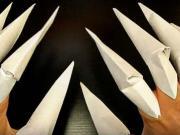 Drápy z papíru - jak si vyrobit papírové drápky