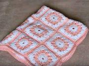 Háčkovaná deka pro miminko