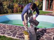 Zazimování bazénu - jak zazimovat bazén