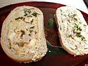 Plněný sendvič - recept na plněny sendvič Veka