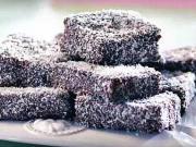 Kokosový ježci - recept na oříškově - karamelové řezy s kokosem