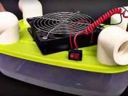 Jednoduchá klimatizace - jak si vyrobit mini pokojovou klimatizaci -DIY