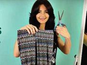Tričko z legín - jako jedním střihem z legín vyrobit tričko