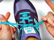 Jak rychle zavázat tkaničky za 2 sekundy - vázání tkaniček