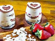 Borůvkový dezert s mascarpone do skleničky - recept