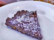 RAW kakaový koláč s kokosem - recept