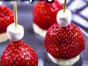 Ovocné jednohubky - recept na ovocné jednohubky