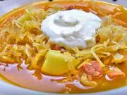 Zelňačka - recept na zelňačku s uzeným masem a bramborami - recept