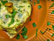 Vaječné lívance s kuřaty a petrželkou - recept