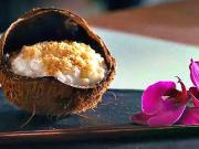 Mléčná rýže s kokosem - recept