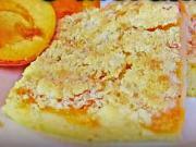Drobenkový koláč s meruňkami - recept
