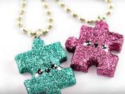 Puzzle nahrdelník - ako si vyrobiť originálny náhrdelník