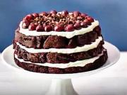 Smetanovo-višňový dort - recept