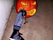 Halloweenska dýně - Vyřezávání dýně - jak vyřezat dýni na Halloween