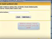 Přesměrování e-mailů na gmail.com