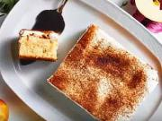Jablečno - smetanový koláč - recept