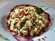 Krabí rizoto - recept na krabí rizoto se zeleninou