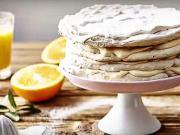 Pomerančový dort - recept na pomerančový dort