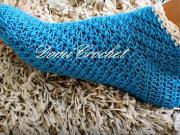 Dámské háčkované ponožky
