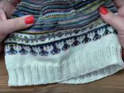Pletení čepice (1.část) - jak si uplést čepici (1/2)