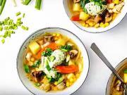 Kuřecí polévka s knedlíčky - recept