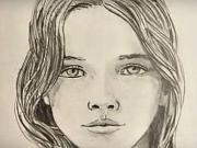 Jak se kreslí tvář - kreslení obličej ženy