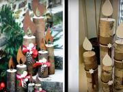 Vánoční ozdoby ze dřeva - dřevěné dekorace