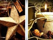 Dekorace ze starých knih - 50 nápadů na recyklaci knihy