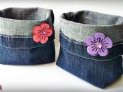 Džínový vak - jak si vyrobit vak z džínů