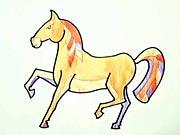 Koník - jak se kreslí kůň