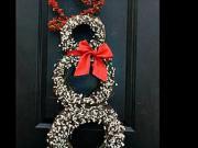 Vánoční výzdoba 9 - inspirace na vánoční výzdobu