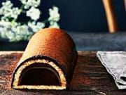 Čokoládový tunel s marcipánem - recept