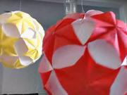 Koule z papíru (2.část) - papírová koule (2/2)
