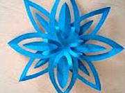 Hvězda z papíru - 3D papírová hvězda