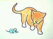 Kočka - jak se kreslí kočka - jak nakreslit kočku, kočičku
