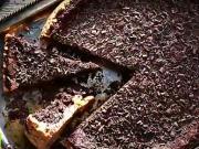 Čokoládový dort - recept na čokoládově - piškotový dort