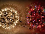 Svitici koule z plastových pohárů - svítící koule z pohárů (ANG)